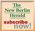 The New Berlin Herald ... subscribe now!